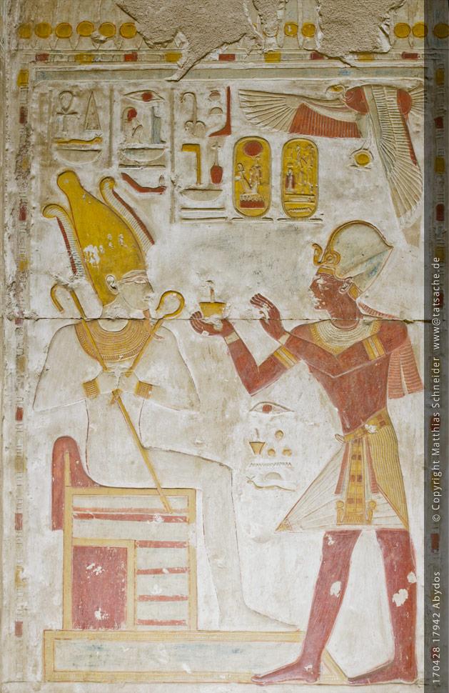 tempel abydos ägypten