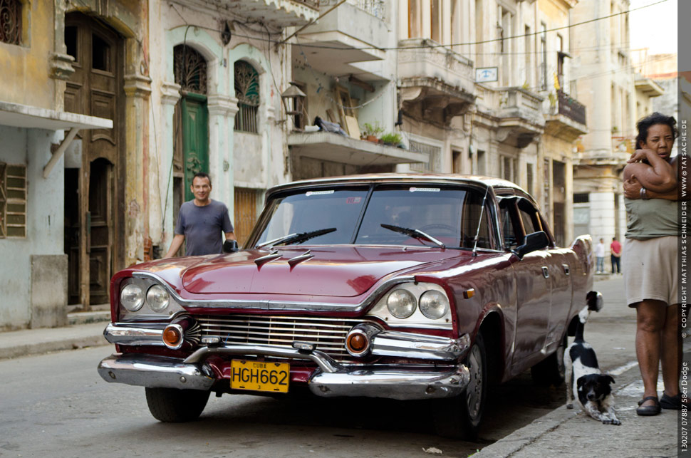 Dodge 1958 in Havanna
